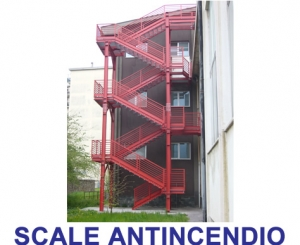 SCALE ANTINCENDIO